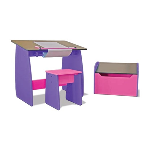 Studio RTA Design Childrens Drawing/Drafting Table and Stool on sale.