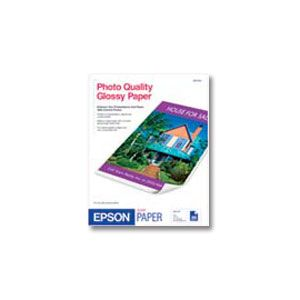 "EPSON Photo Quality paper Glossy S041124 8.5"" x 11"" (20 sheets/pkg)"