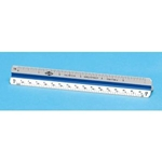 "Series 600 6"" Plastic Triangular Scales"