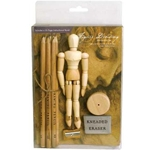 ART ALTERNATIVES Aria Figure Drawing Introduction Set (AA1005)