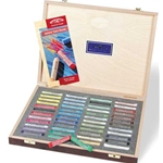 WINSOR & NEWTON Artists' Soft Pastels Wood Box Set