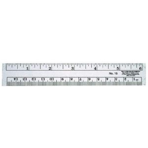 "C-THRU® 12"" Co-Ed Plastic Rulers"