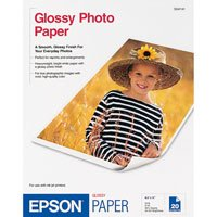 "EPSON Letter Size Photo paper 8.5"" x 11"" (20 sheets/Pkg)"