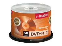 DVD-R 4.7GB 16X Branded Government Series (50/Spindle)