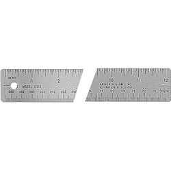 GAEBEL 200 Series Corkback Ruler