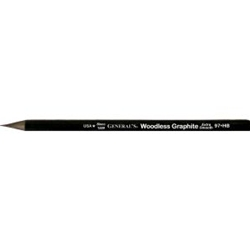 GENERAL'S® All-Art® Woodless Graphite Pencils