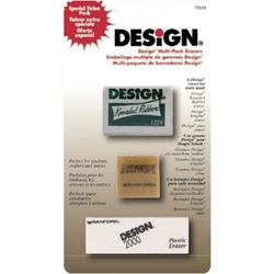 Design® Art Eraser 3-Pack