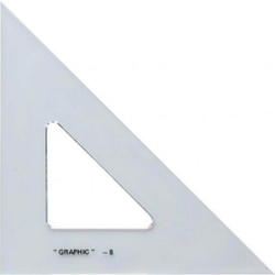 Alvin® Academic transparent Triangle