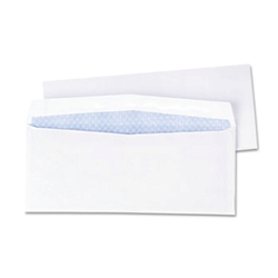 QUALITY PARK Business Envelope, Contemporary, #10, White 500/Box