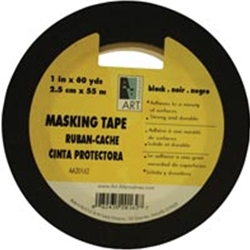 Acid-Free Black Masking Tape