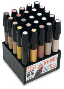 Chartpak Ad Marker Flesh Tones Set ON SALE