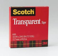 3M #600 Transparent Tape