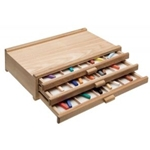 WOOD PASTEL BOX 3 DRAWER
