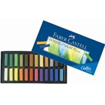 SOFT PASTELS 1/2 STICK 24/SET