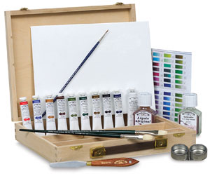 artists oil color windser set, windsor set