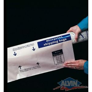 ALVIN® Blueprint Shipping Bags