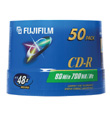 Fuji CD-R 700/80 48X (50/Spindle)