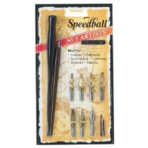 SPEEDBALL® No. 5 Artists' Set