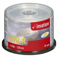 DVD-R 4.7GB 16X, Silver, (50/Spindle)