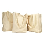 HERITAGE™ Natural Canvas Tote Bags