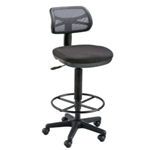 GRIFFIN DRAFTING CHAIR BLACK