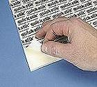 PRESS ON Self-Adhesive High-Tack White Foam Board