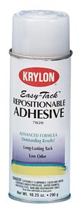 KRYLON® 7020 Easy-Tack™ Repositionable Adhesive Spray