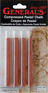 Compressed Sienna Sticks