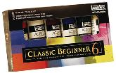 Classic Beginner 6 Artist Acrylic Tube Set