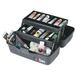 Two Tray Art Bin