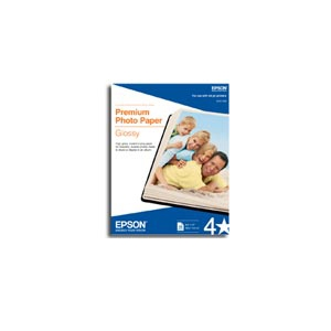 "EPSON Premium Photo Paper Glossy 13"" x 19"" (20 sheets/pkg)"