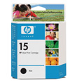 HP #15 Black InkJet Print Cartridge (600 Yield)