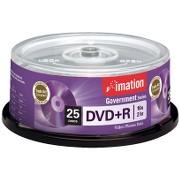 DVD+R 4.7GB 16X Branded Government Series (25/Spindle)