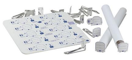 "CLIPPER TAGS Reusable 3½"", blueprint clipper tags"