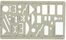 Pickett Military Map Symbols Templates 1700I & 1701I on sale