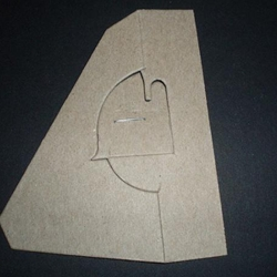 Gray Cardboard Easel Backs, Glue On (75 point)