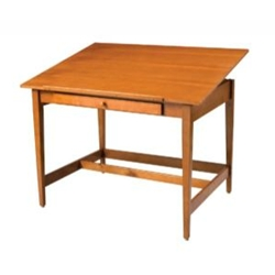 VANGUARD WOOD TABLE 36X48
