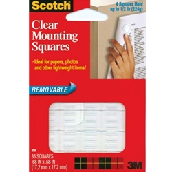 Scotch Clea Mounting Squares