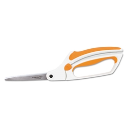 FISKARS Easy-Action Softouch Scissors, 8 in. Length, 3-1/4 in. Cut