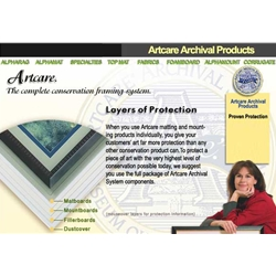 BAINBRIDGE® ArtCare White Archival Acid Free Foam Board