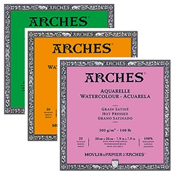 Arches 140LB Watercolor Blocks