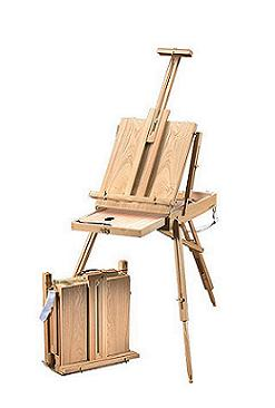 Heritage Basic French easel HWE208
