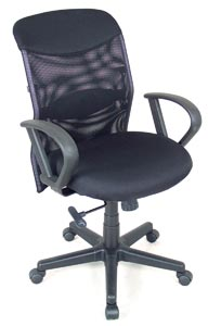 ALVIN® Salambro Mesh Fabric Manager's Chair