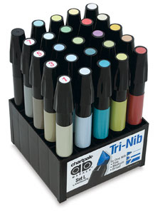 CHARTPAK® AD™ Marker Color Set 25/LANDSCAPE ON PROMOTION