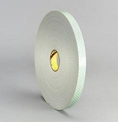 Double-Sided Foam Tape 1/8""