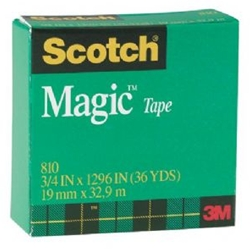 3M #810 Magic Tape, 3M magic tape