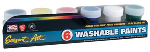 Primary Washable Paint Set
