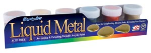Metallic Acrylic Paint Set