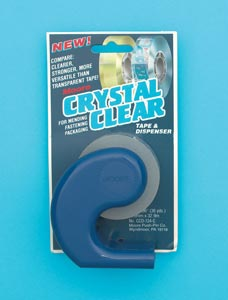 MOORE® CRYSTAL CLEAR Tapes