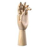 HAND MANNEQUIN 12 MALE LEFT